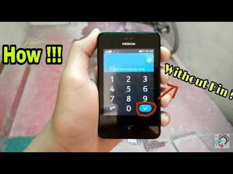 HOW TO UNLOCK NOKIA ASHA 501|how to unlock Nokia asha 501 security code|how to break