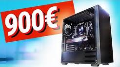 Bester 900 - 1000€ Euro GAMING PC 2019!! - TEST & Zusammenbauen