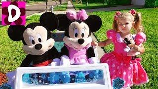 День Рождения МИННИ МАУС Приехали Гости Микки Маус и Minnie Toys Mickey Mouse Disney junior Episodes