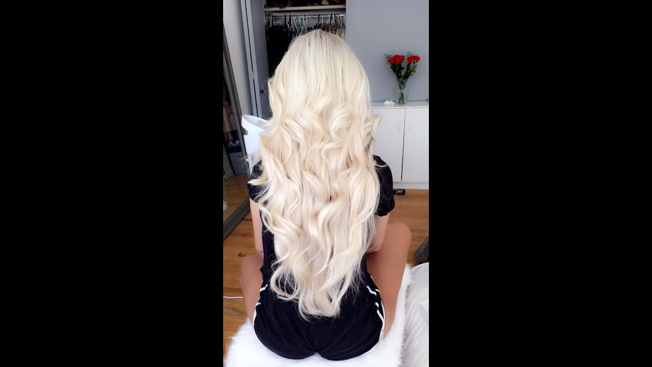 Halo couture extensions tutorial review youtube halo couture extensions tutorial review baditri Image collections