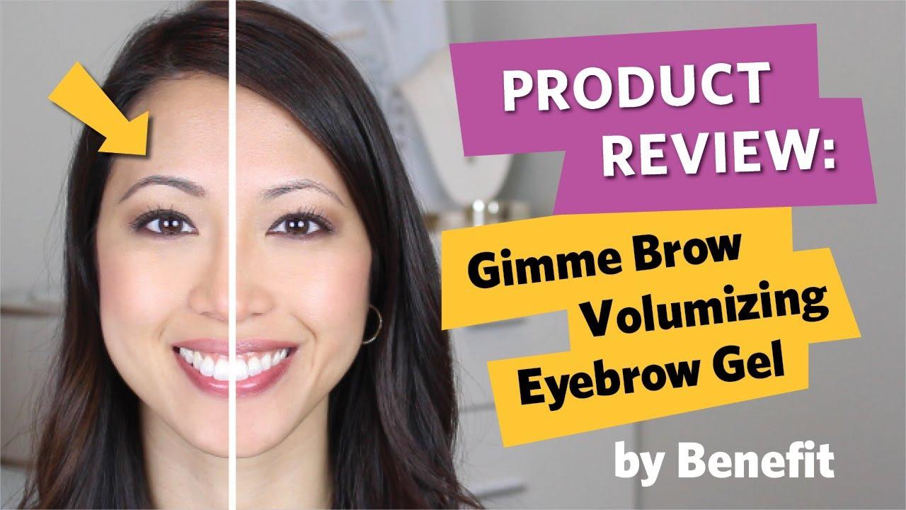 dc9bcac1437 Gimme Brow Volumizing Fiber Gel Review - Gimme Brow Benefit - YouTube