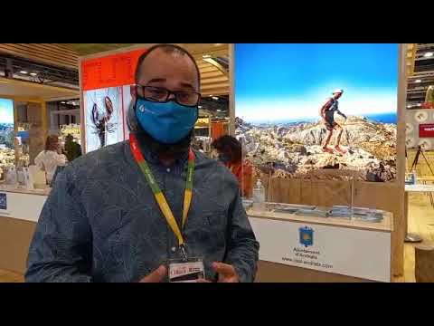 Tomeu Bosch, regidor de Turismo de Andratx, en Fitur