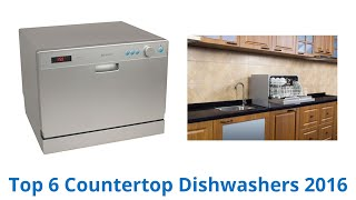 6 Best Countertop Dishwashers 2016