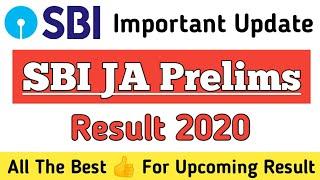 Update About 👍 SBI Clerk Pre Result 2020 / SBI Clerk Mains Exam Date