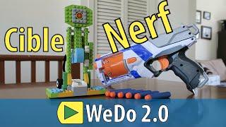 Cible Nerf en LEGO WeDo 2.0