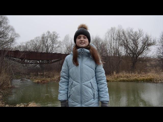 Изображение предпросмотра прочтения – ДарьяАбрамова читает произведение «Весенние воды (Еще вполях белеет снег…)» Ф.И.Тютчева