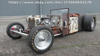 Rust Never Sleeps Auction Starts (part 52) RC Rat Rod charity auction build for Cancer Society NZ.