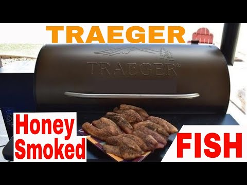 TRAEGER--🐟Honey Smoked Fish🐟 Salmon, Trout, Walleye, Tilapia, Cod, Crappie