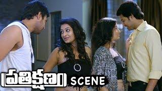 Maneesh Gets Fear With Tejaswini Prakash Behavior - Prathikshanam Movie Scene