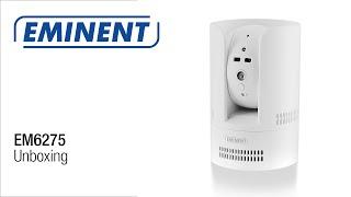 EM6275 Easy Pro View Pan/Tilt HD IP Camera Unboxing & Installatie