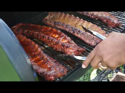 THE BEST BABY BACK RIBS RECIPE! HOW TO SMOKE BABY BACK RIBS! SOUTHERN SMOKE BOSS | OUTDOOR COOKING