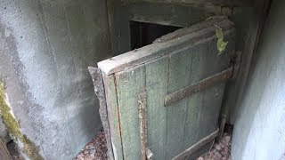 Находки у Заброшенных Дотов, поиск с металлоискателем у Бункера