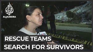 Turkey Earthquake: Rescue Teams Search For Survivors In Izmir