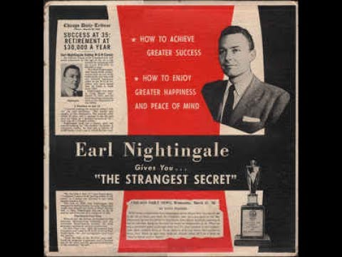 Earl Nightingale's The Strangest Secret original FULL recording