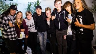 The Mini Band Meet Metallica & Play Reading Festival on BBC South Today TV