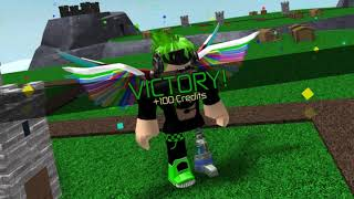 Roblox Spongebob Beat 🔥 | Victory Royale!!! in Tower Battles