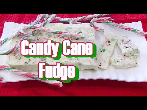 Candy Cane Christmas Fudge