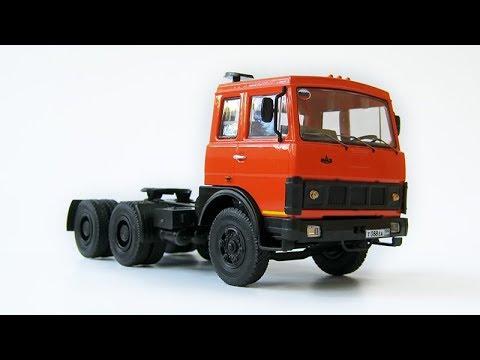 Сборка модели - МАЗ-6422 (AVD Models)