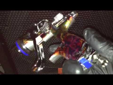 sata jet spray guns foose tatoo magic 90 youtube. Black Bedroom Furniture Sets. Home Design Ideas