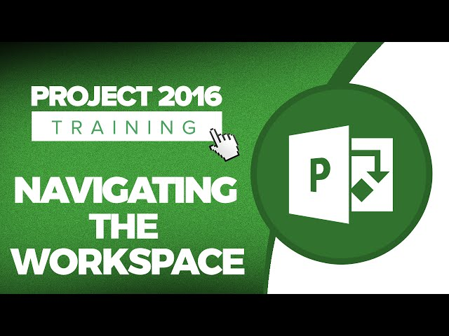 Microsoft Project 2016 Training Tutorials