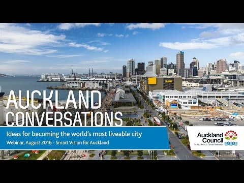 Smart Vision for Auckland: Jim Quinn, Chief of Strategy, Auckland Council
