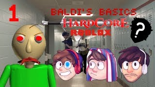 Baldi's Basic's ROBLOX HC | Episode 1 (Ft. OverHillDreams, Freshy Greg)