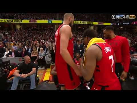 DeMar DeRozan Gets Benched In Entire 4th Quarter!Lowry Upset With His Choke Show   YouTube