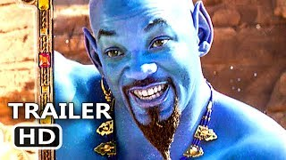 ALADDIN Trailer # 3 (NEW 2019) Will Smith, Disney Movie HD