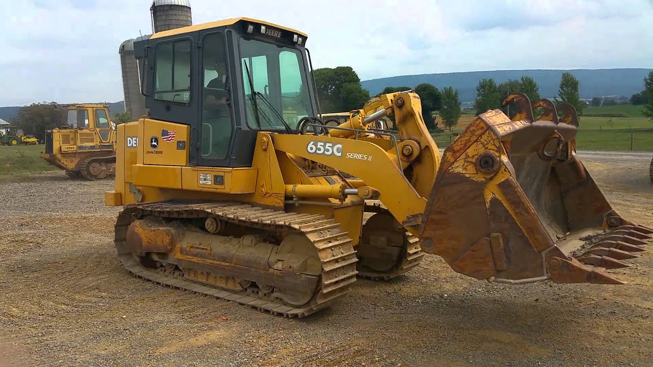 Track Loader For Sale >> 2005 John Deere 655c Series 2 Track Loader With 4 1 Bucket For Sale