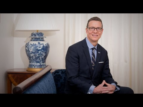 Meet Dr. JAMES HERBERT UNE's New President