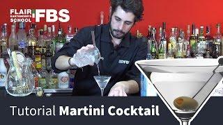 Martini Cocktail Tutorial  | Come Preparare Un Ottimo Martini Cocktail | Cocktail For You By Fbs