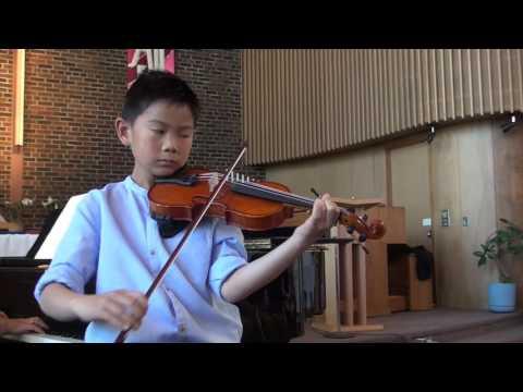 Concerto in A Minor, 3rd Movement, by Vivaldi (Mav=10)