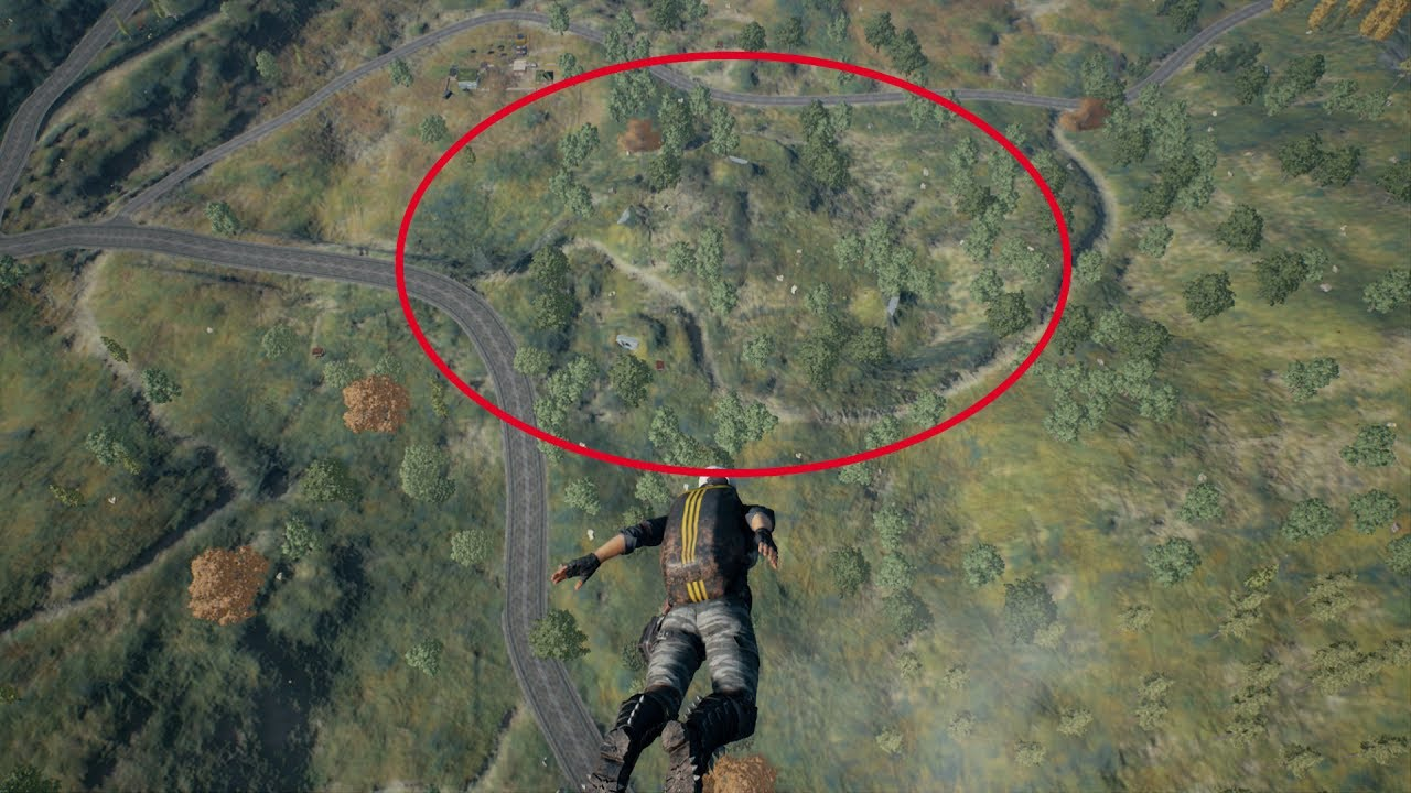 Playerunknown S Battlegrounds Maps Loot Maps Pictures: PUBG - Top 5 Landing Spots