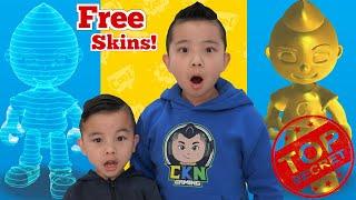 How To Get FREE Secret Skins in CKN Car Hero