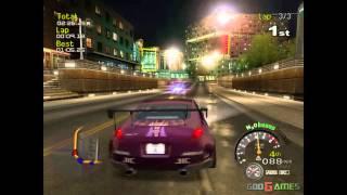 Street Racing Syndicate - Gameplay Gamecube HD 720P (Dolphin GC/Wii Emulator)