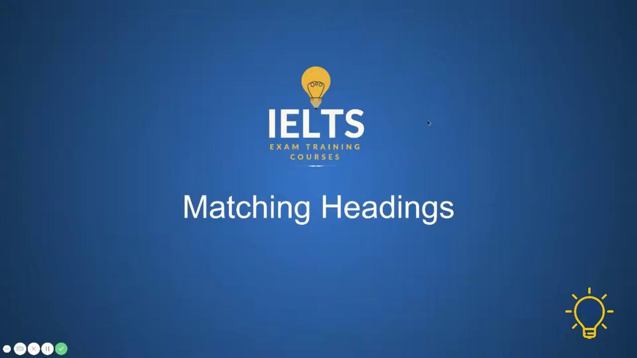 Matching Headings_Tea1