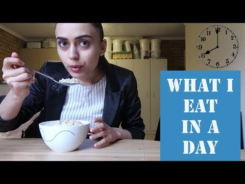 WHAT I EAT IN A DAY TO LOSE WEIGHT   Lunch at 2pm?   PCOS DIARES 2018   Alina Valiant