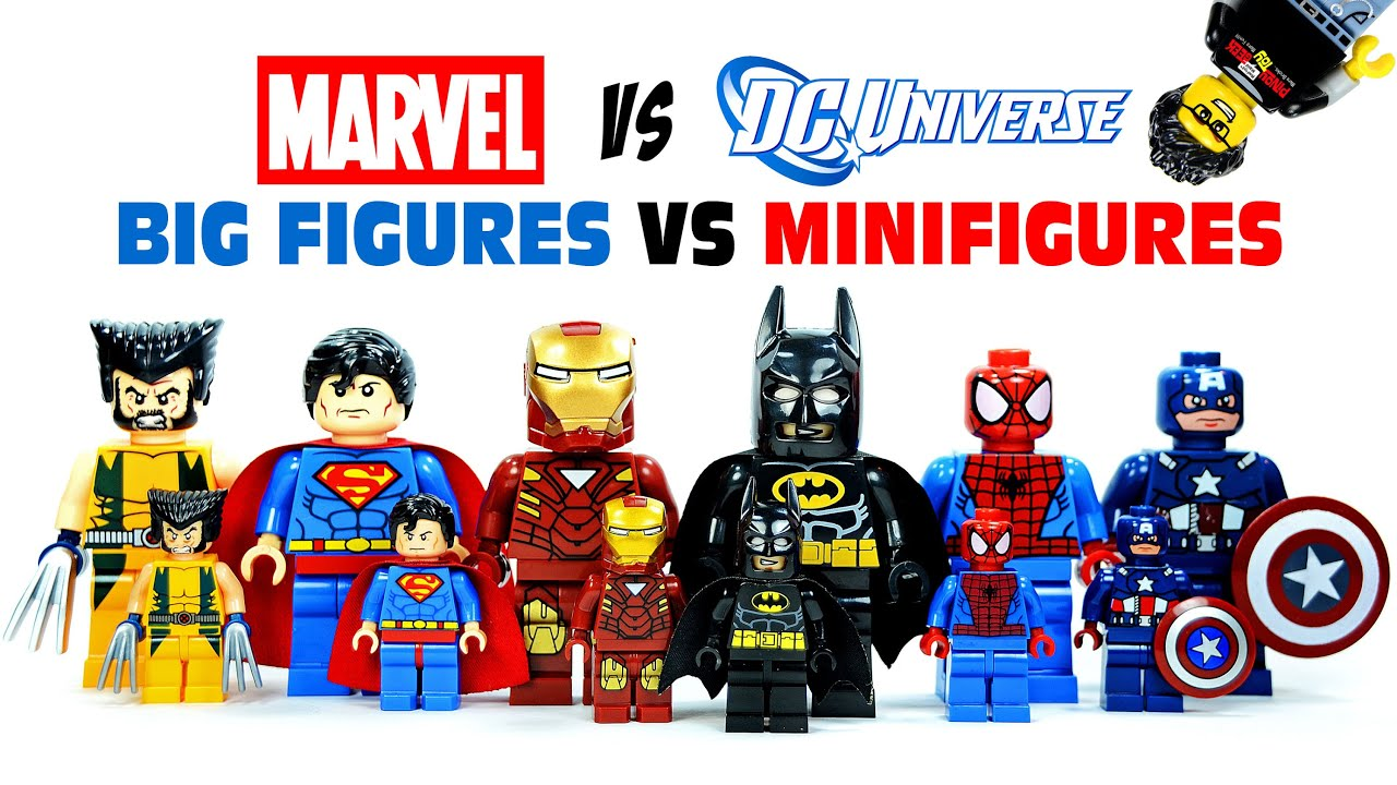 marvel lego figures set