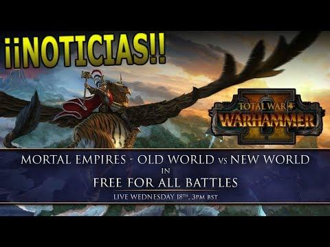 Old World vs New World Free4all★ Total War: Warhammer 2 español