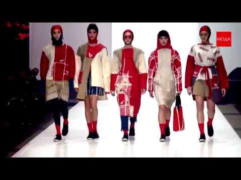 РУССКИЙ СИЛУЭТ 2018. Fashion-шоу в рамках финала XII Международного конкурса молодых дизайнеров
