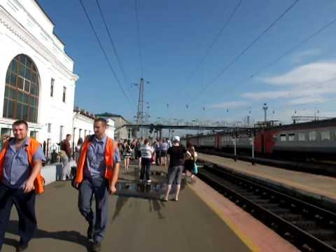 Железнодорожный вокзал г. Уссурийск (Приморский край)