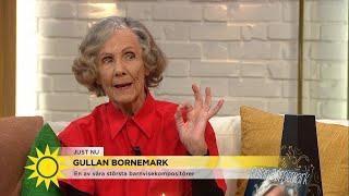 """Gullan Bornemark har komponerat över 400 barnvisor:  """"Jag har så mycket musik … - Nyhetsmorgon (TV4)"""