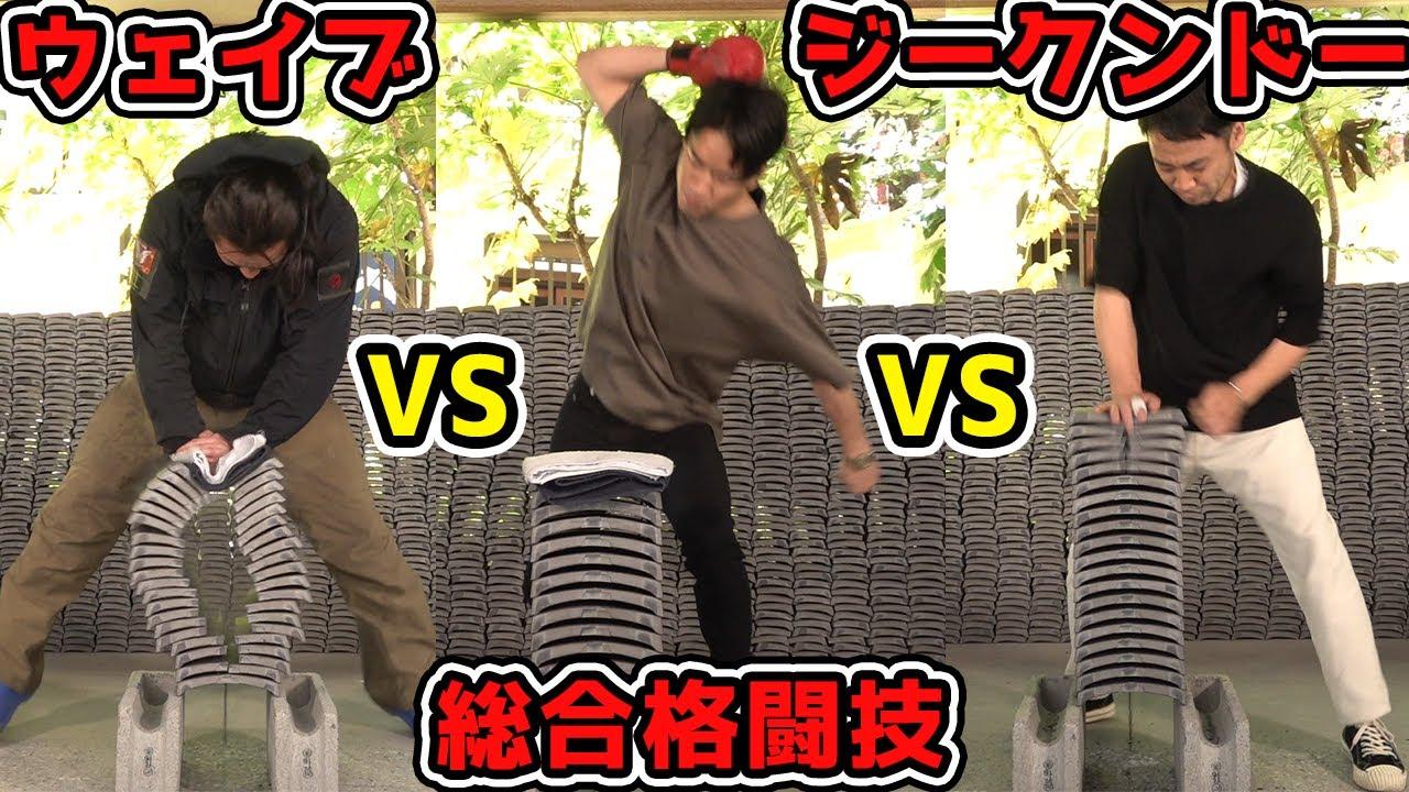 【神回】ウェイブ・ジークンドー・総合格闘技どれが一番強いのか