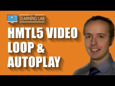 HTML5 Video Loop Autoplay Using The Video Tag And Simple Parameters