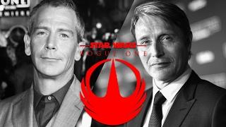 STAR WARS ROGUE ONE interview w/ Ben Mendelsohn (³Krennic²) & Mads Mikkelsen (³Galen²)