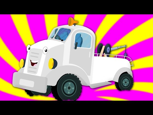 Wheels On The Tow Truck | Nursery Rhymes For Babies by Kids Tv