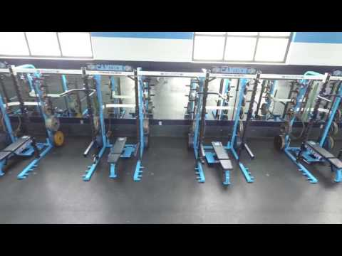 2017 Camden County HS (GA) Weight Room