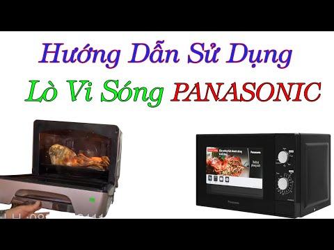 Hướng Dẫn Sử Dụng Lò Vi Sóng 3D Panasonic Nội địa Nhật -0968632166