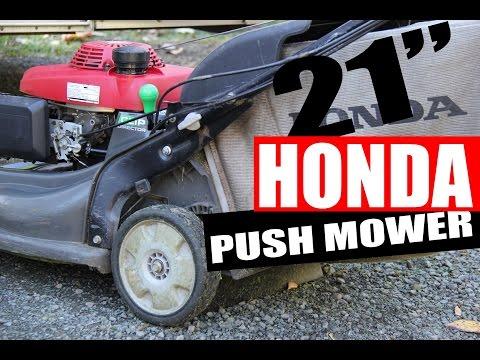 """Honda 21"""" Push Lawn Mower"""