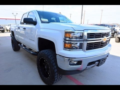 2015 Chevrolet Silverado 1500 Double Cab >> 2014 Chevrolet Silverado 1500 LT Z71 Double Cab Lifted Truck - YouTube